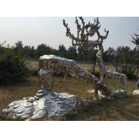 Wholesale Lawn Decoration Large Modern Garden Sculptures With Stainless Steel Material from china suppliers