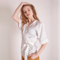 Wholesale Fashionable Women Linen Blouse from china suppliers