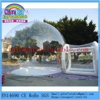 China Hot sale brand new install convenient transparent inflatable bubble tent for camping on sale