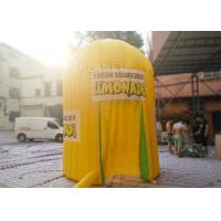 Quality Yellow Oxford Inflatable Lemonade Booth PLT-063 3 M Dia / 4 M Height for sale