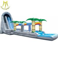 China Hansel  inflatable playground bouncer tree slide for adults inflatable water slides china for sale on sale