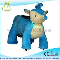 Wholesale Hansel plush animals motorized coin operated walking animal motorized animals from china suppliers