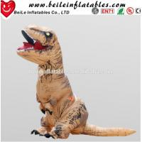 Wholesale Hot sale excellent quality low price costumes walking inflatable costume dinosaur moving cartoon from china suppliers