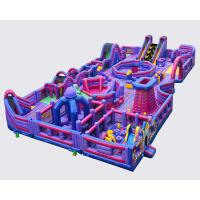 Wholesale Giant Bouncy Indoor Inflatable Obstacle Course Juego Jockey / Blow Up Amusement Park from china suppliers