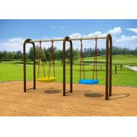 1-2 People Sit Childrens Swing Set With Dissimilar Chair 2.5CBM Volume KP-G012