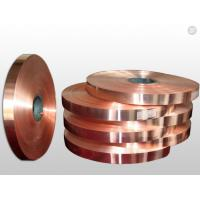 Wholesale High - Precision Rolled Copper Foil For Electronics Shielding / Heat Radiation from china suppliers
