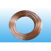 Wholesale Steel Evaporator Tube 6.35 * 0.65 mm , Low Carbon Copper Coated from china suppliers