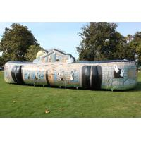 Buy cheap Customized Size Inflatable Bounce House Inflatable Haunted House PVC Tarpaulin from wholesalers