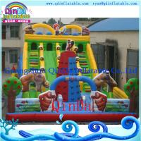 China Theme park kids indoor playground inflatable bouncy castle on sale