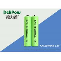 Wholesale 500mAh AAA Rechargeable Batteries Nimh 1.0v~1.2v Battery Rechargeable AAA from china suppliers
