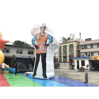 Buy cheap Custom Inflatable Advertising Products , Event Decoration Clean Woman Inflatable from wholesalers