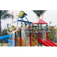 China Several Lanes Fiberglass Kids' Water Playground For Water Park Build on sale