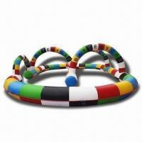 Wholesale Inflatable Race Track, Made of 0.55mm PVC from china suppliers