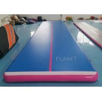 Buy cheap 9x2x0.2m Custom Color Double Wall Fabric Air track Inflatable Airtrack For Home from wholesalers