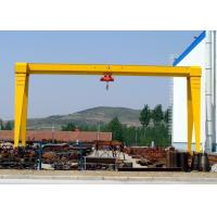 China 10 Ton / 20 Ton Single Beam Gantry Crane , Outdoor Steel Gantry Lifting Equipment on sale