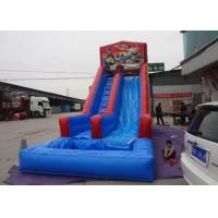 Wholesale Custom Children Inflatable Double Slip And Slide With Pool Customized Color from china suppliers