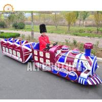 Wholesale Fun Park Shopping Mall Electric Kids Mini Trackless Train 14 Passengers from china suppliers