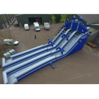 Wholesale Outdoor PVC Tarpaulin 0.55mm Inflatable Water Slide With Airblower from china suppliers
