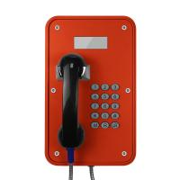Wholesale Vandal Resistant Industrial VoIP Phone Weatherproof With LCD Display Screens from china suppliers
