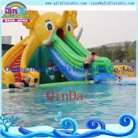 Quality Inflatable Slide for Pool Ginat Inflatable Elephant Slide Water Slides for Sale for sale