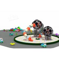 Wholesale CREEZ Commercial Playground Equipment , Kids Outdoor Playset Large Ball Play Equipment from china suppliers