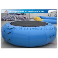 Wholesale Exciting Inflatable Water Game / Rave Sports Water Trampoline Blue Color from china suppliers