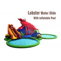 Wholesale Lobster Paradise Commercial Inflatable Water Slides Big Blow Up Water Slide from china suppliers