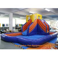 Wholesale Home Jumping Kids Wet Giant Commercial Inflatable Slide / Water Slip And Slide from china suppliers