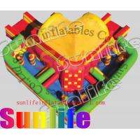 Wholesale hot sell inflatable jumper slide combo COM040 from china suppliers