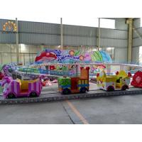 Buy cheap 380v / 220v Voltage Amusement Train Rides Mini Shuttle Kid Game Ride from wholesalers
