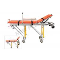 Foldable Elevator Ambulance Stretcher , Medical Rescue Stretcher Trolley