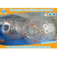Wholesale Bumper Soccer PVC Inflatable Zorb Ball For Ramp Zorbing / Grass , Hill Or Land from china suppliers