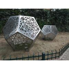 Buy cheap Contemporary Metal Art Sculpture , Metal Garden Sculptures For Yard Decoration from wholesalers