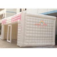 Wholesale PVC Tarpaulin 8m Inflatable Cube Tent for outdoor from china suppliers