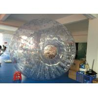 Wholesale Grass PVC / TPU Inflatable Zorb Ball Soccer , Giant Hamster Ball For Humans from china suppliers