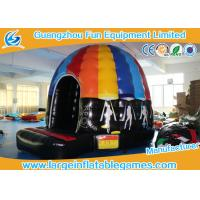 Wholesale Customized Bouncy Castle Inflatable Disco Dome Slide Combo For Amusement Park from china suppliers