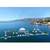 China Outdoor Water Waves Water Park Equipment , Inflatable Floating Water Park on sale
