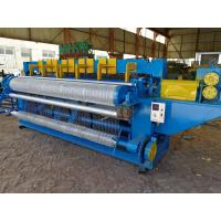 Quality Electric Fully Automatic Welded Wire Mesh Machine For Carbon Steel Wire for sale
