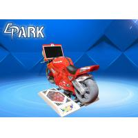 Wholesale 1 Player Kiddie Ride On Motor Super Motorcycle Race Car Game Machine from china suppliers
