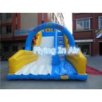 China Customized Pvc Children Recreation Inflatable Slide with Blower for Outdoor Game on sale