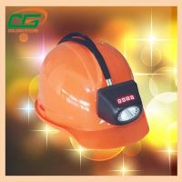 Wholesale Atex Approval Digital And Cordless Cree Mining Hard Hat LED Lights , Miner Helmet Light from china suppliers