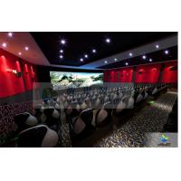Wholesale Large High Definition 4D Movie Theater Motion Chair With Arc Screen from china suppliers