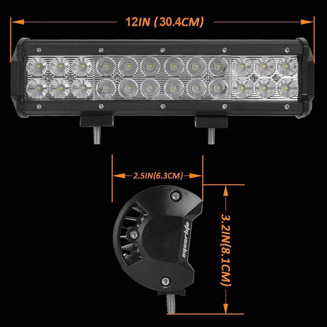 Wholesale Aluminum Material Auto LED Mini LED Light Bars 3W/PCS Cree LEDS Work Light Bar IP 68 from china suppliers