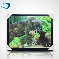 Wholesale Custom Bear Design 3D Lenticular Picture , 3D Flip Picture Decration from china suppliers
