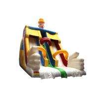 Wholesale Lead - Free Giant Carton Double Inflatable Dry Slide For Children 3 Years Old And Above from china suppliers