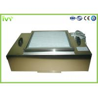 Wholesale Stainless Steel Hepa Filtration Unit , Hepa Filter Module Uniform Air Speed from china suppliers