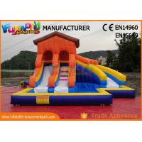 Giant Inflatable Water Slide Clearance For Adult Customized Color