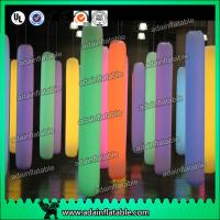 Wholesale Events Party Hanging Decoration LED lighting Inflatable Pillar from china suppliers