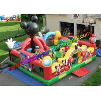 Wholesale Mickey Mouse Amusement Toys , Jumping Bouncer Funcity With PVC from china suppliers