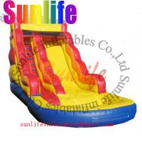 Wholesale inflatable water pool giant slide from china suppliers